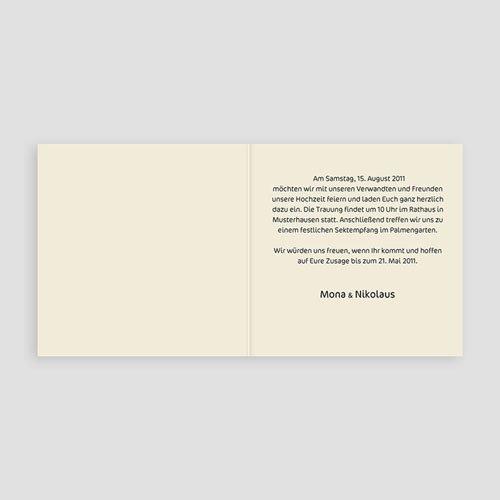 Hochzeitseinladungen ohne Foto Kopenhagen pas cher