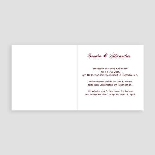 Archivieren - Hochzeitskarten edel 8675 preview