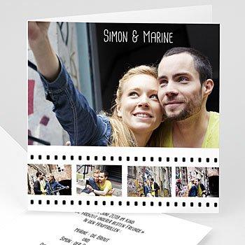 Hochzeitskarten mit Foto - Hochzeitskarte - 1
