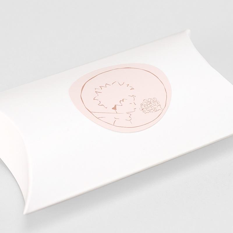 Aufkleber Geburt Die Rose des kleinen Prinzen, Sticker gratuit