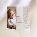 Geburtskarten Der Kleine Prinz The Little Prince, Triptychon, Goldprägung