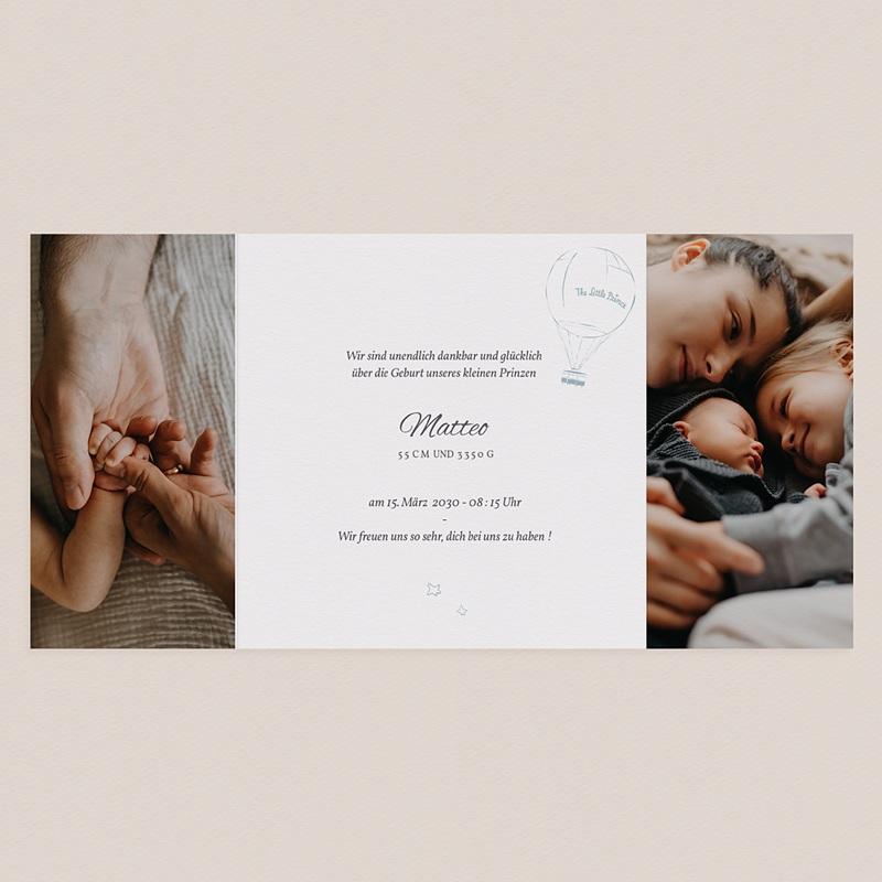 Geburtskarten Der Kleine Prinz The Little Prince, Triptychon, Goldprägung pas cher