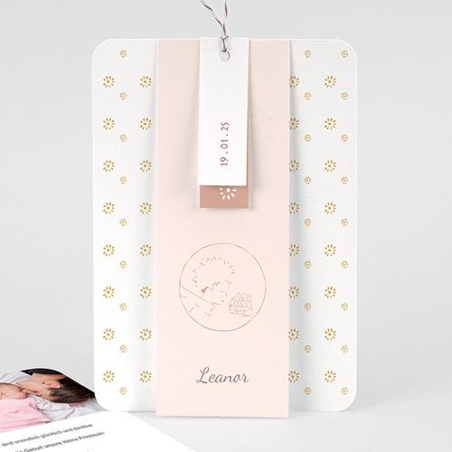 Geburtskarten Der Kleine Prinz Die Rose des kleinen Prinzen, 3 Etiketten