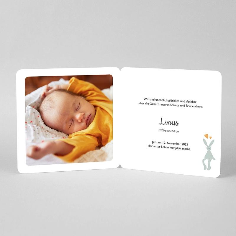 Geburtskarten mit Tieren Kleiner Löwe mit rundem Anhänger pas cher