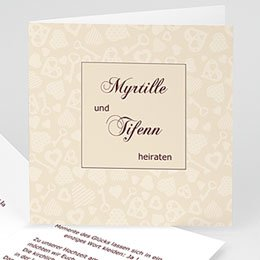 Karten Hochzeit Unverwechselbar
