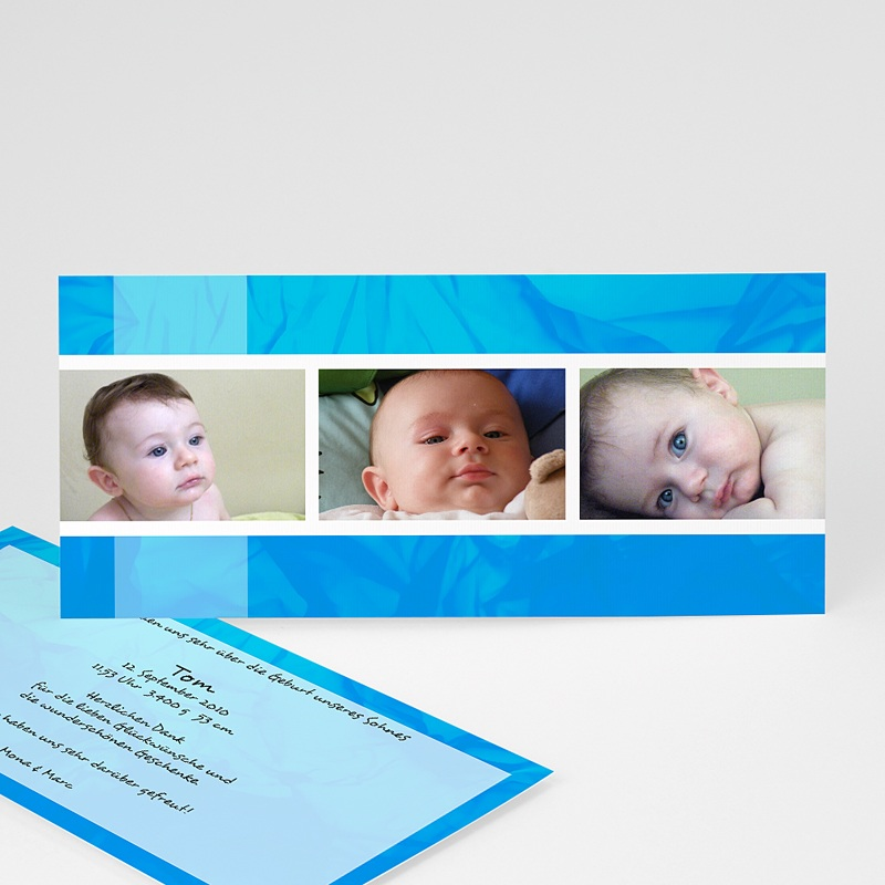 Geburtskarten für Jungen Marcel