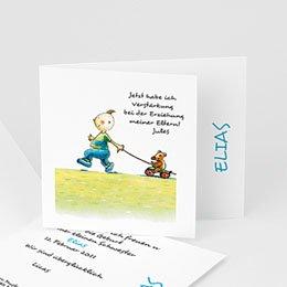 Babykarten für Jungen - Geschwisterglück - 1