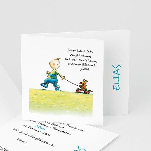 Babykarten für Jungen - Geschwisterglück 9013