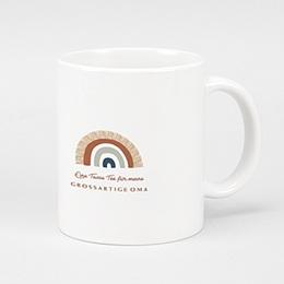 Personalisierte Fototassen Weihnachten - Rainbow Wish, Mug - 0