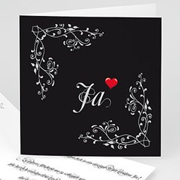 Karten Hochzeit Barok