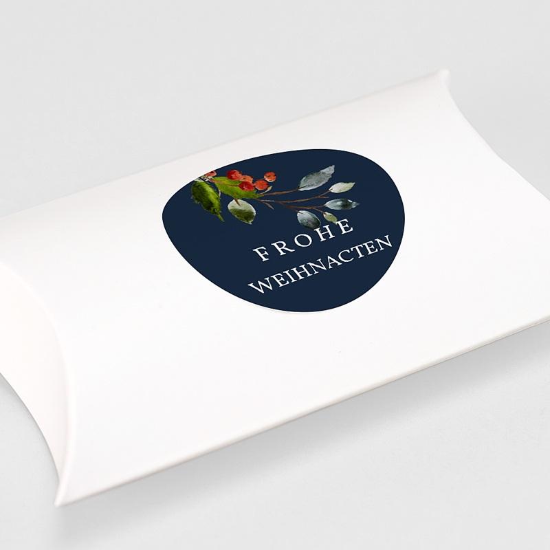 Etikett Weihnacht Adventskranz Ländlich, Sticker gratuit