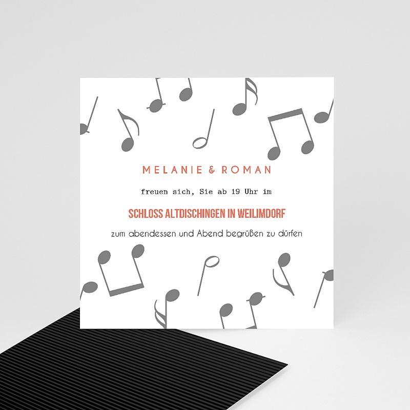 Einladungskarten Hochzeit Schallplatte, Cocktail & Let's dance!