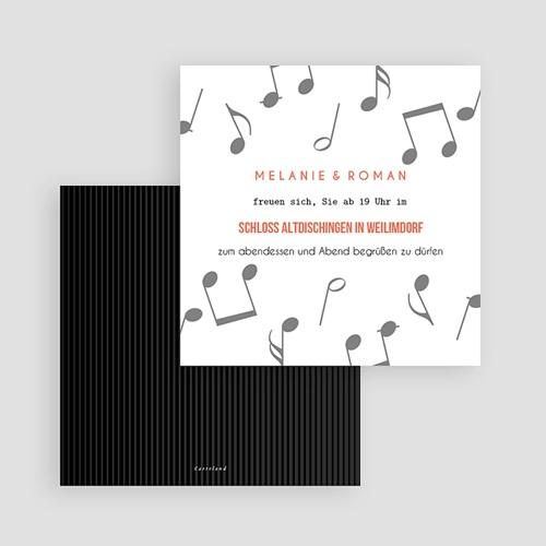Einladungskarten Hochzeit Schallplatte, Cocktail & Let's dance! gratuit