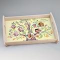 Personalisierte Foto-Tablett  Stammbaum