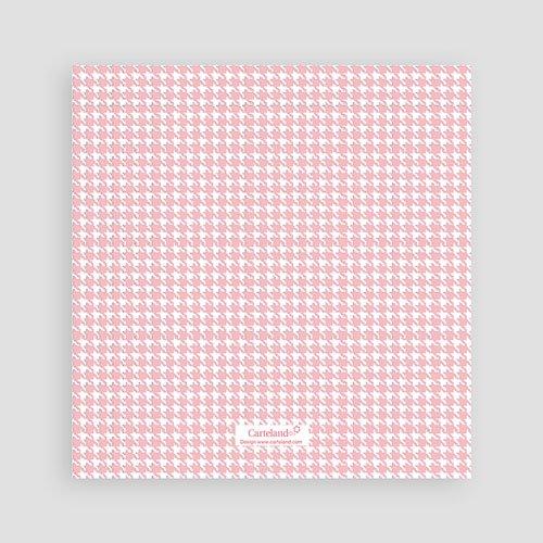 Dankeskarten Geburt Mädchen - Tweed Girl 9076 preview