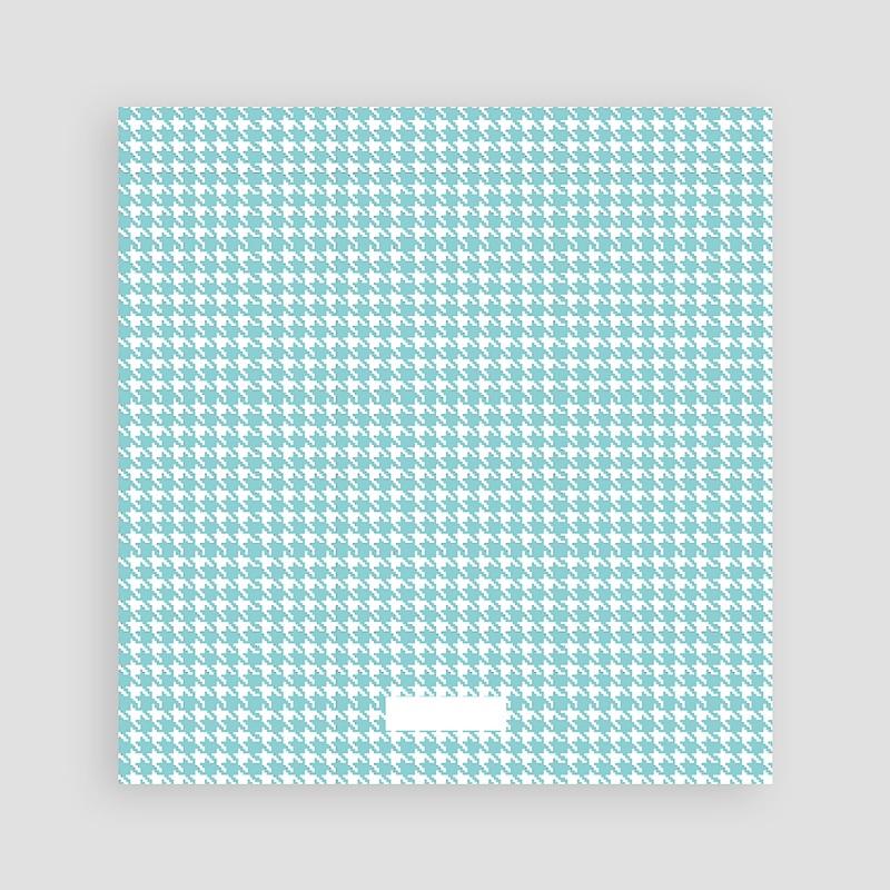 Dankeskarten Geburt für Jungen Tweed Boy pas cher