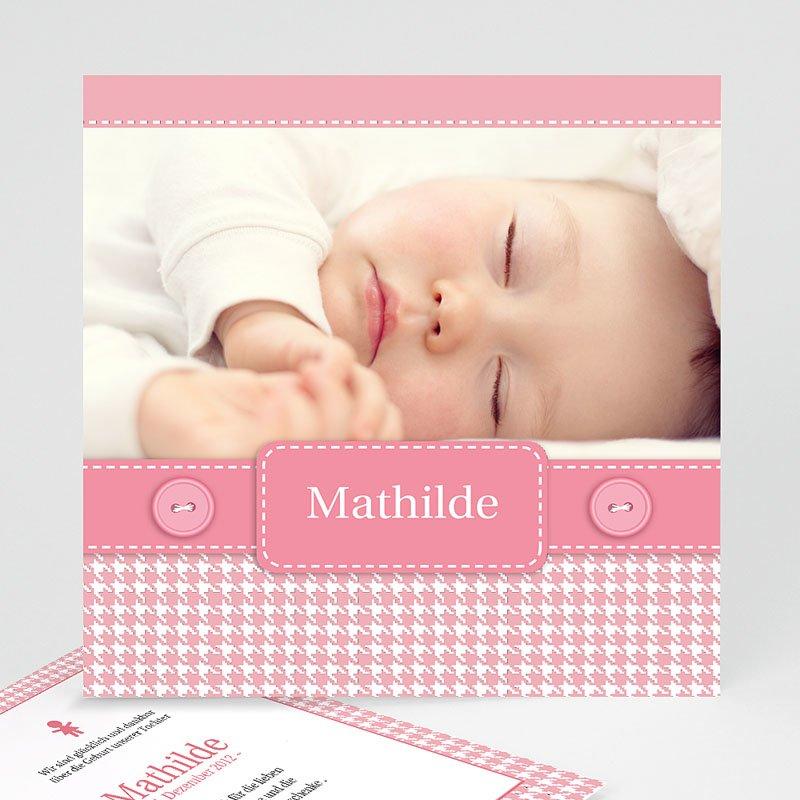Geburtskarten für Mädchen Mathilde