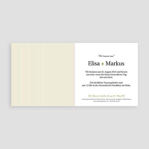 Einladungskarten Hochzeit  - Shanghai 9092 test