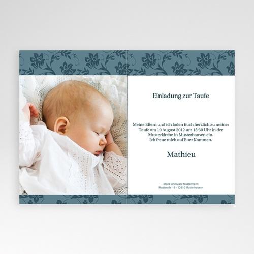 Einladungskarten Taufe Mädchen - Elma 9120 preview