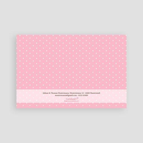 Dankeskarten Geburt Mädchen - Benjamine 9136 preview
