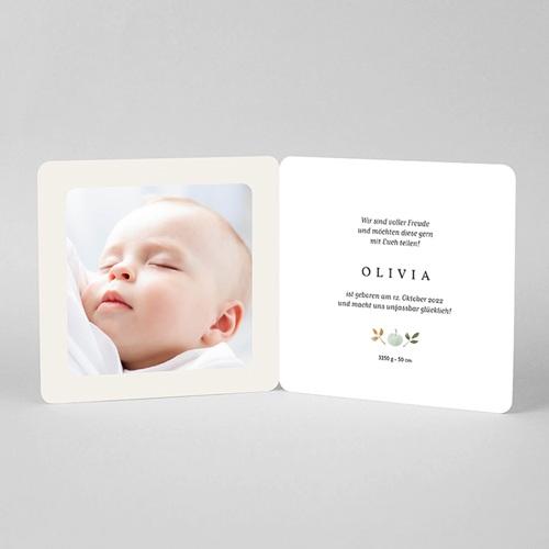 Geburtskarten Reinette-Apfel, runder Anhänger pas cher