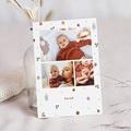 Geburtskarten für Geschwister Poesie, Ländlich, 3 Fotos
