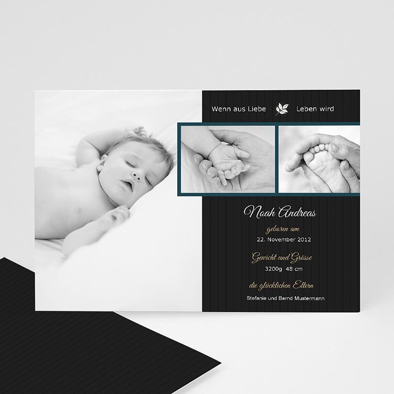 Geburtskarten für Jungen - Modern originell 9155 thumb