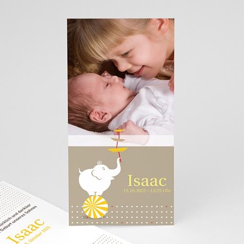 Babykarten für Jungen - Zirkuselefant 9163