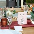 Tischnummer Hochzeit 2 Herzen, Dreierpack pas cher