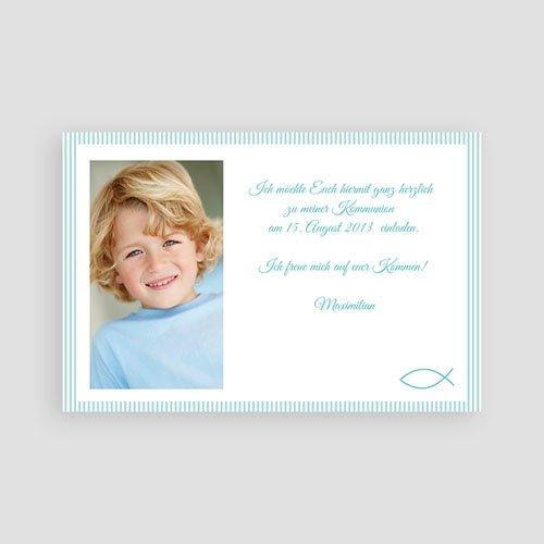 Einladungskarten Kommunion Jungen - Bastian 9174 test