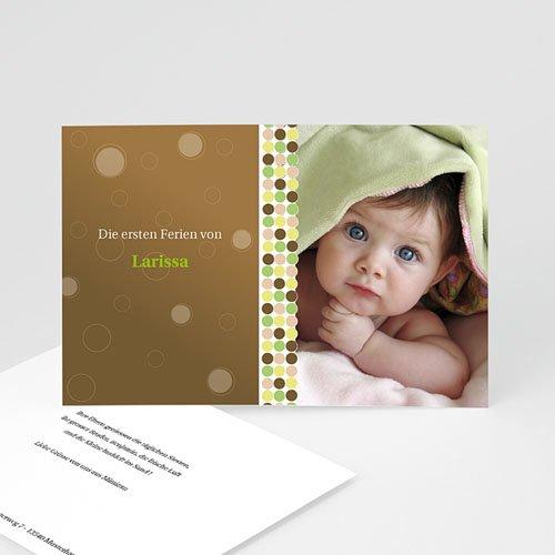 Babykarten für Jungen - Geburtskarte Kevin  9189