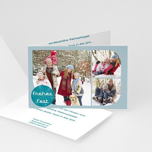 Weihnachtskarten - Multi-Fotos 3 9246