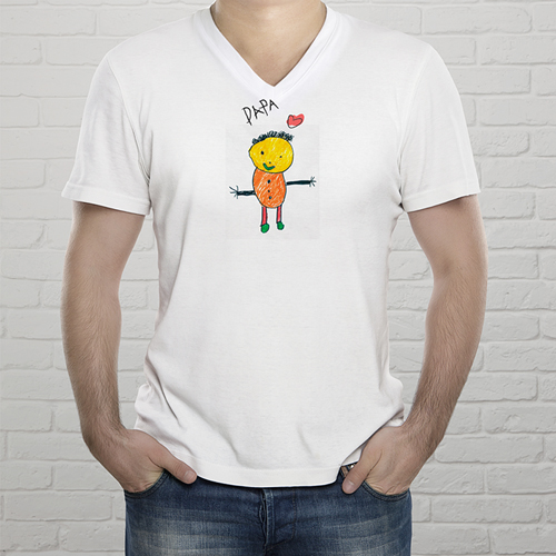 Tee-Shirt  - Kinderzeichnung 9252