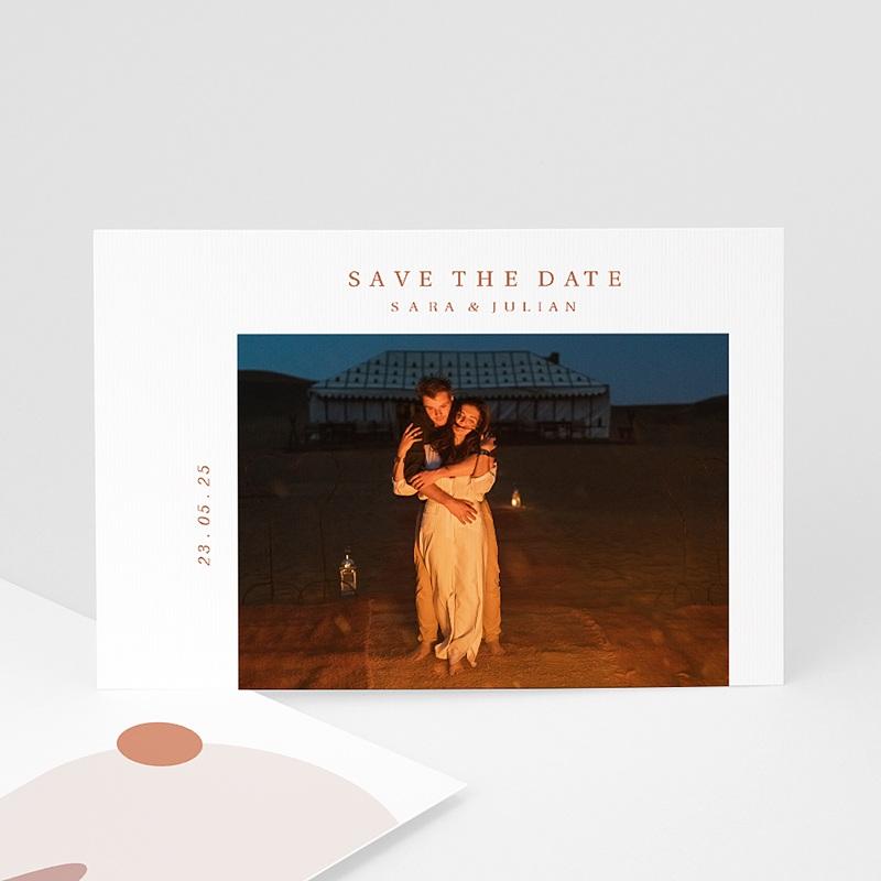 Save The Date Karten Hochzeit Blick aus dem Riad, Ockerdünen, Foto
