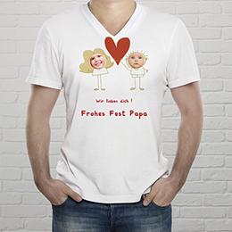 T-Shirt Geschenke Ich liebe dich