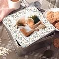 Personalisierte Fotodose Erinnerungen Geburt, 20.2 x 20.2 cm