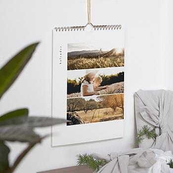 Schreibwaren - Wandkalender schlicht schön - 0