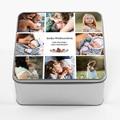 Personalisierte Fotodose personalisiertes Geschenk Großeltern, 20,2 x 20,2 cm