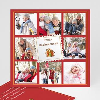 Weihnachtskarten - Weihnachtskarte Jahresrückblick - 1
