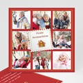 Weihnachtskarten Jahresrückblick