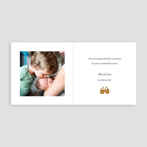 Geburtskarten für Geschwister Die 5 gehören zusammen, Pantoffeln & Foto pas cher