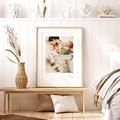Plakate 3 Fotos, Name und Geburtsdatum, 30 X 40 cm pas cher