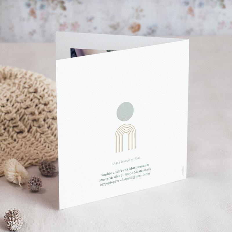 Einladungskarten Kommunion fur Jungen Kirchenportal, Goldprägung gratuit
