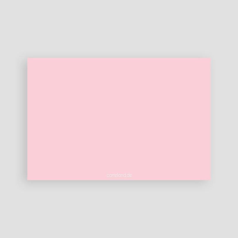 Geburtskarten für Mädchen Rosatöne pas cher