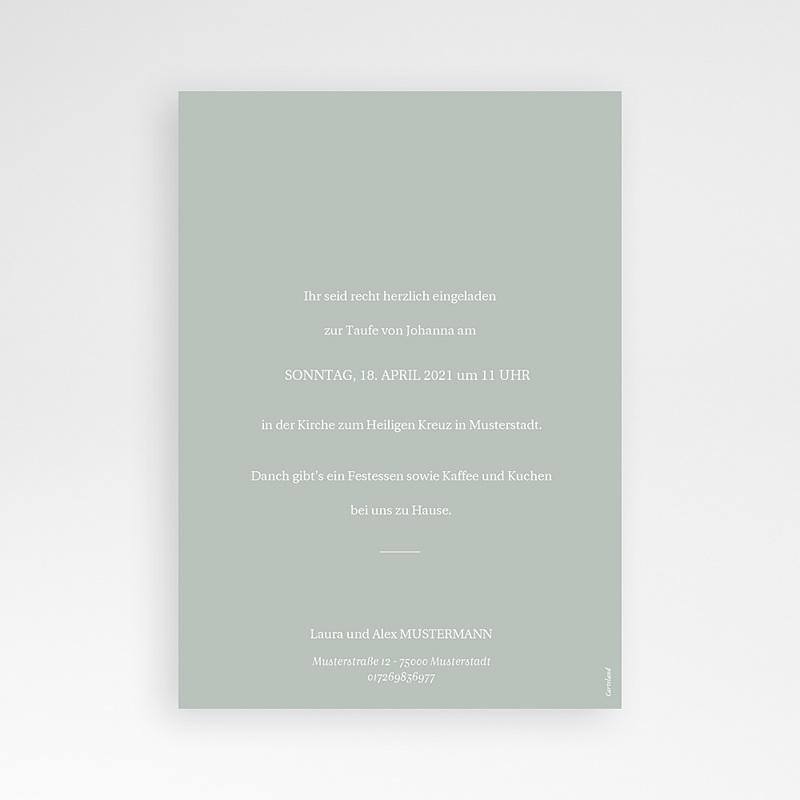 Einladungskarten Taufe  Herbstnatur Allerlei, Foto, 12 x 16.7 cm pas cher