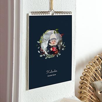 Wandkalender - Wandkalender Weihnachten, 3 Fotos pro Monat - 0