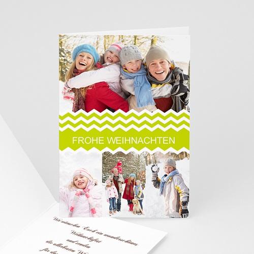 Weihnachtskarten - Strohstern 9330 test