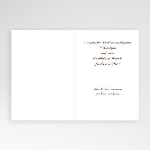 Weihnachtskarten - Strohstern 9331 test