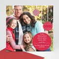 Weihnachtskarte Weihnachtskugeln - 1