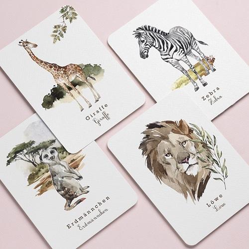 Schreibwaren Tierwelt in Afrika gratuit